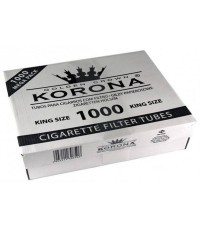 Гильзы Korona для набивки сигарет 1000 шт