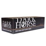 Сигаретные гильзы Dark Horse Black 200 шт. (5903240799933)
