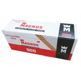 Гильзы для набивки сигарет Magnus Extra Long 24 мм 500 штук
