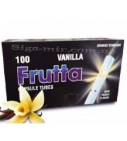 Сигаретные Гильзы с капсулой Frutta Vanilla (Ваниль) 100 шт (5903240299577)