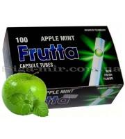 Сигаретные Гильзы с капсулой Frutta Apple-Mint 100 шт (5903240299579)