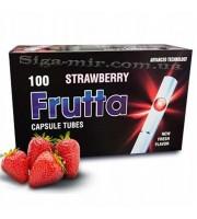 Сигаретные Гильзы с капсулой Frutta Strawberry 100 шт (5903240299577)
