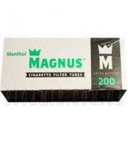 Гильзы для набивки сигарет Magnus Ментол 200 шт (5902768381320)