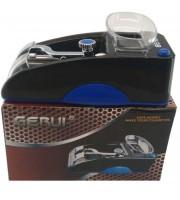 Электрическая машинка для набивки сигарет Gerui GR-12-005 синяя (100073)