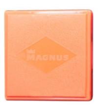 Портсигар MAGNUS пластиковый на 20 сигарет Жёлтый