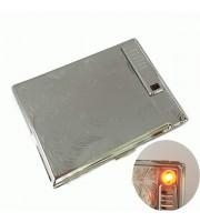 Портсигар с USB зажигалкой-спиралью накаливания Pioneer № 574