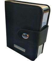 Портсигар с зажигалкой Focus на 10 сигарет Черный (YH-009)