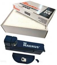 Набор для набивки сигарет Magnus — сигаретные гильзы, фирменная машинка для набивки сигарет