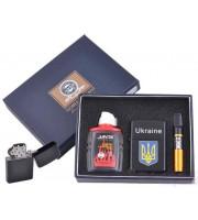Подарочный Набор Ukraine Зажигалка, Бензин, Мундштук (4721)