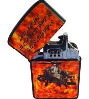 Электроимпульсная зажигалка (USB) №4776-4